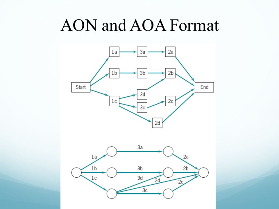 AON and AOA Format