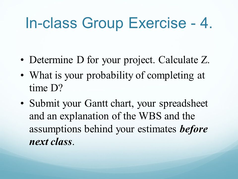 In-class Group Exercise - 4.