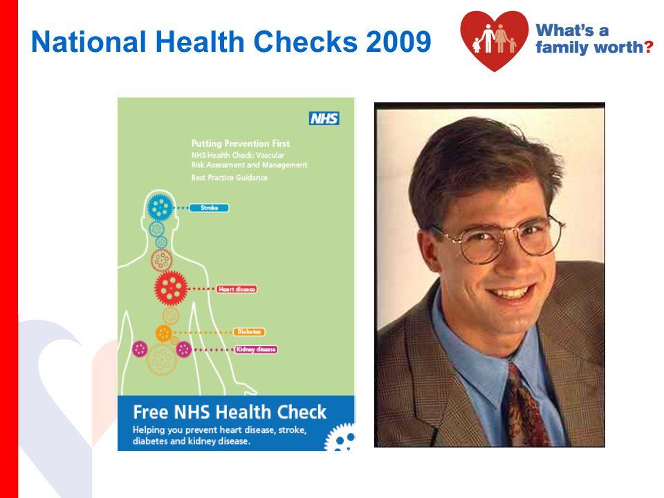 National Health Checks 2009