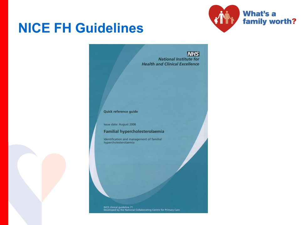 NICE FH Guidelines