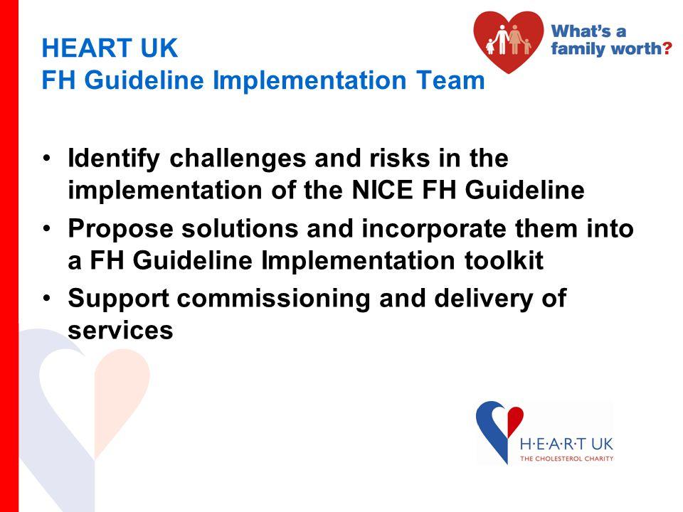 HEART UK FH Guideline Implementation Team