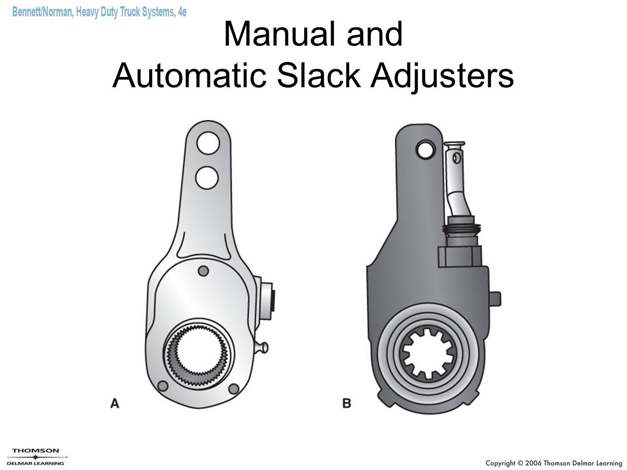 Manual and Automatic Slack Adjusters