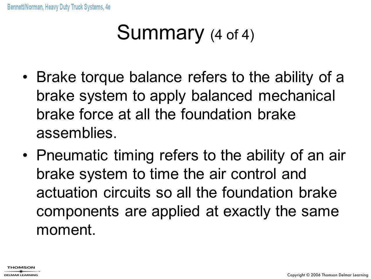 Summary (4 of 4)