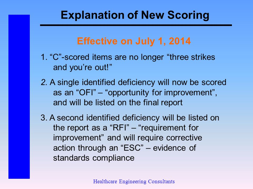 Explanation of New Scoring