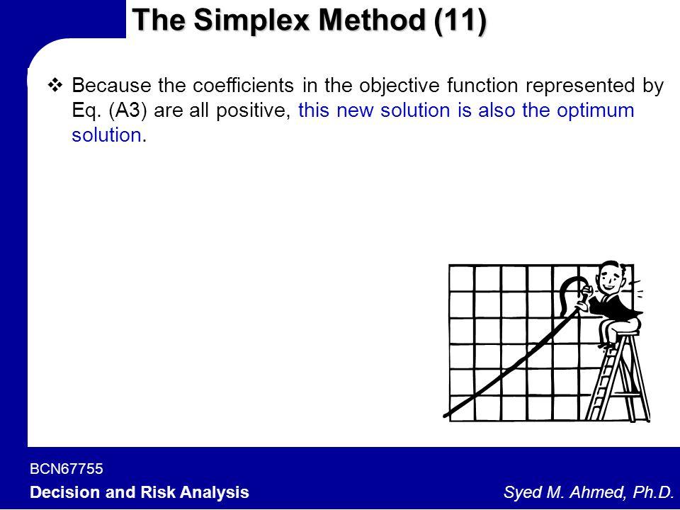 The Simplex Method (11)
