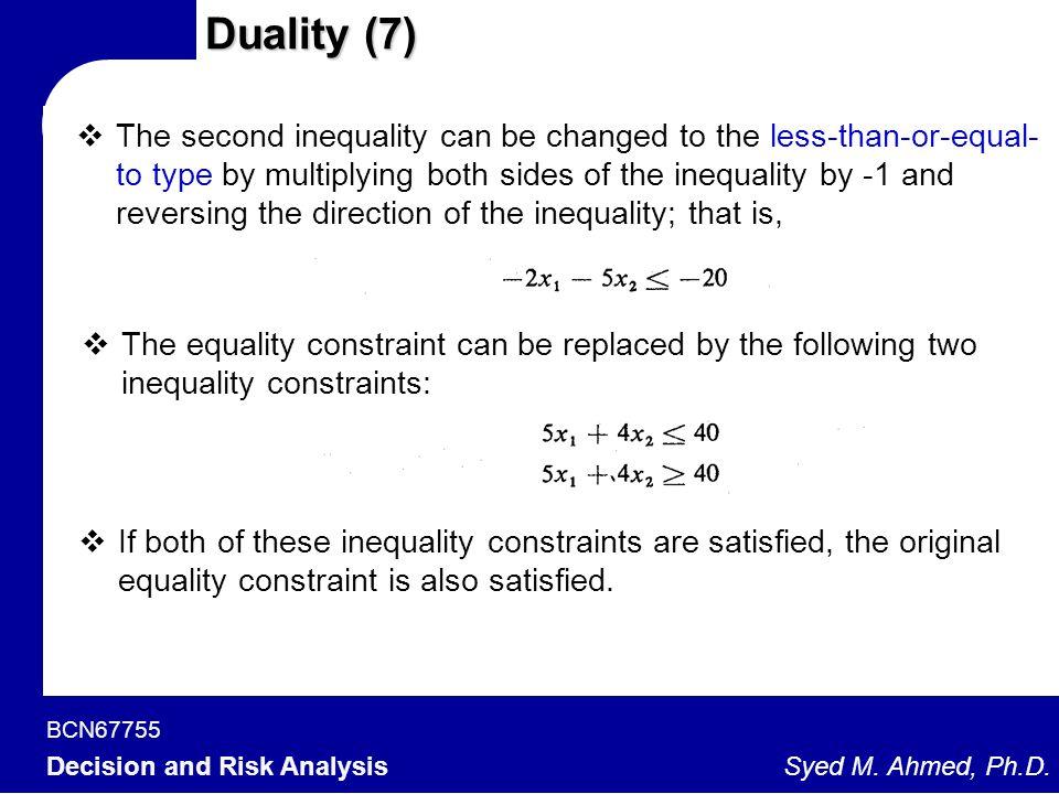 Duality (7)
