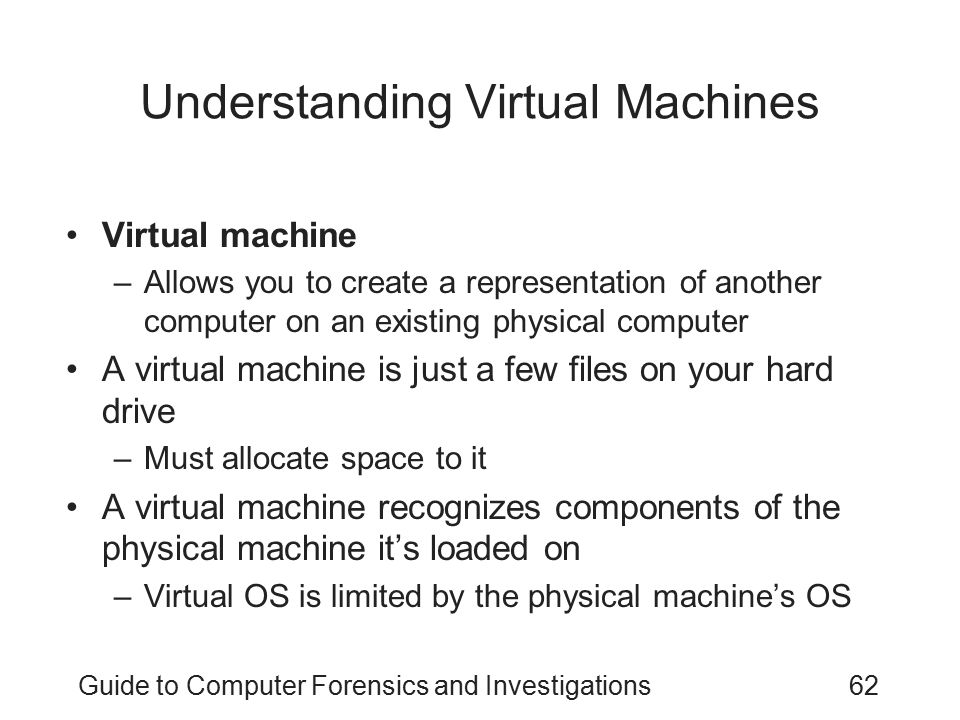Understanding Virtual Machines