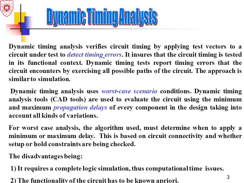 Dynamic Timing Analysis