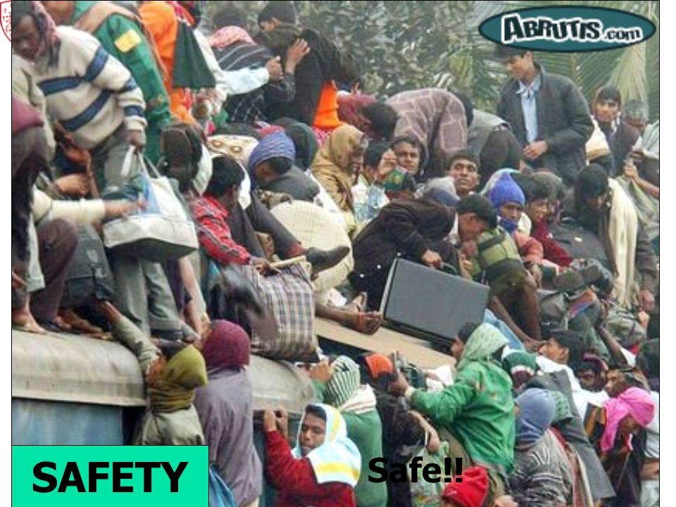 SAFETY Safe!!
