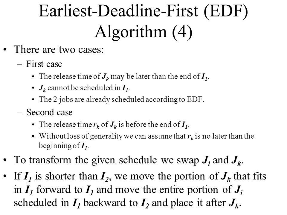 Earliest-Deadline-First (EDF) Algorithm (4)