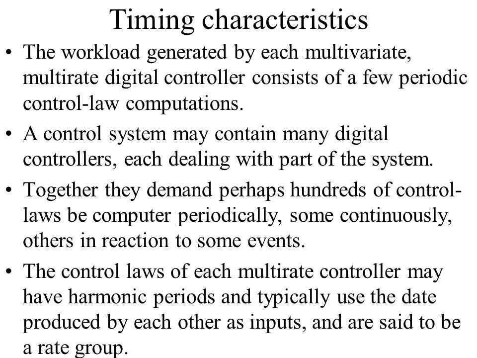 Timing characteristics