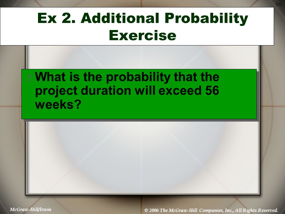 Ex 2. Additional Probability Exercise