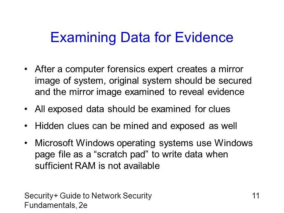Examining Data for Evidence