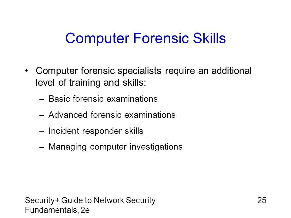 Computer Forensic Skills