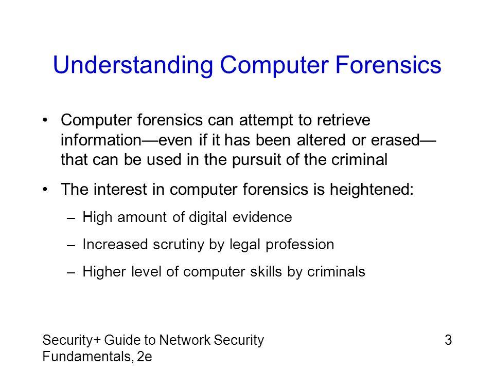 Understanding Computer Forensics
