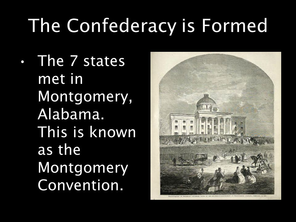 The Confederacy is Formed