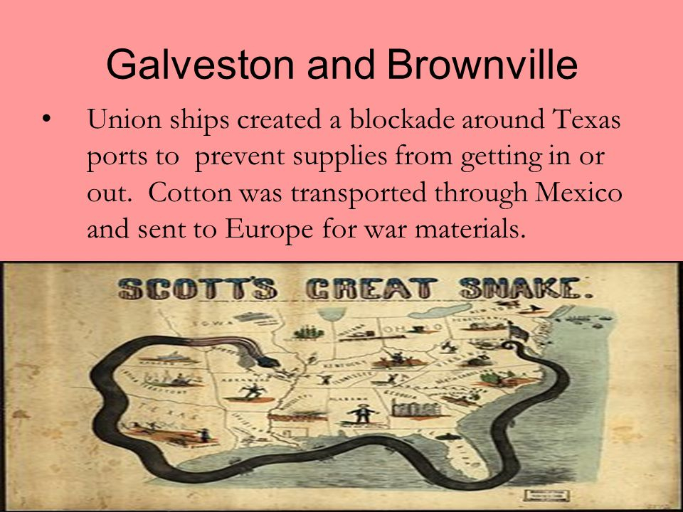 Galveston and Brownville