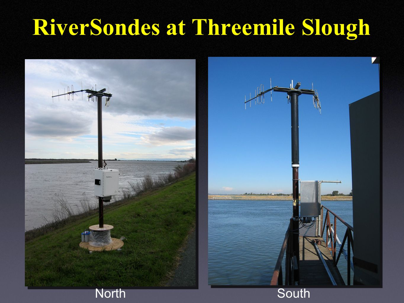 RiverSondes at Threemile Slough