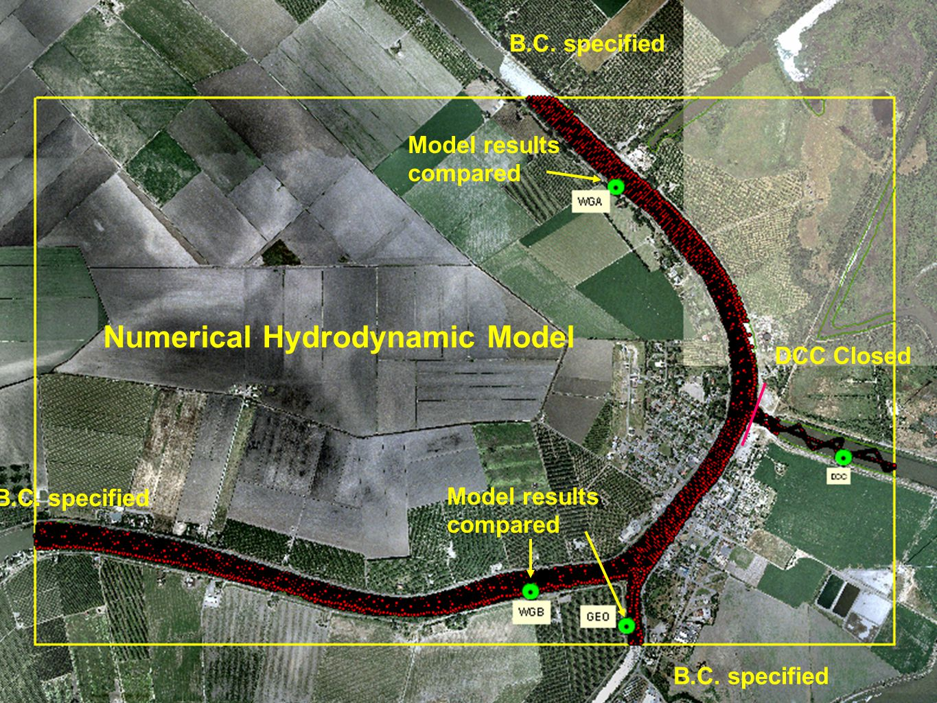 Numerical Hydrodynamic Model