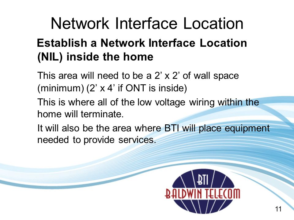 Network Interface Location
