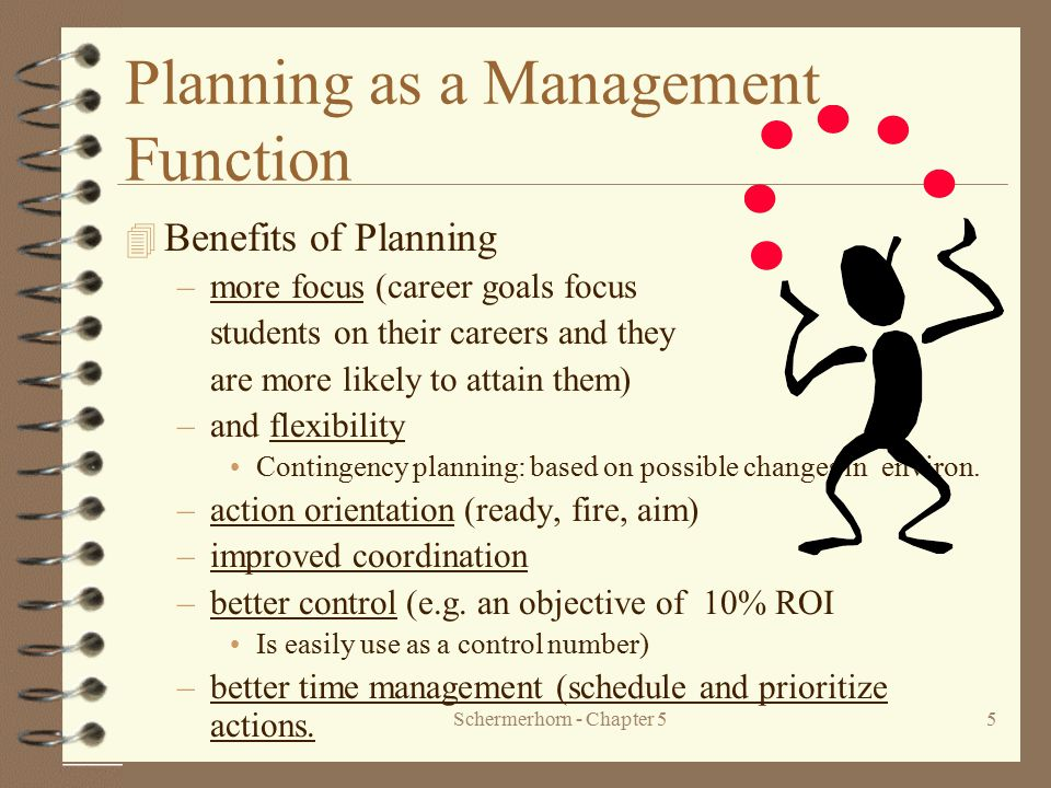 Planning as a Management Function