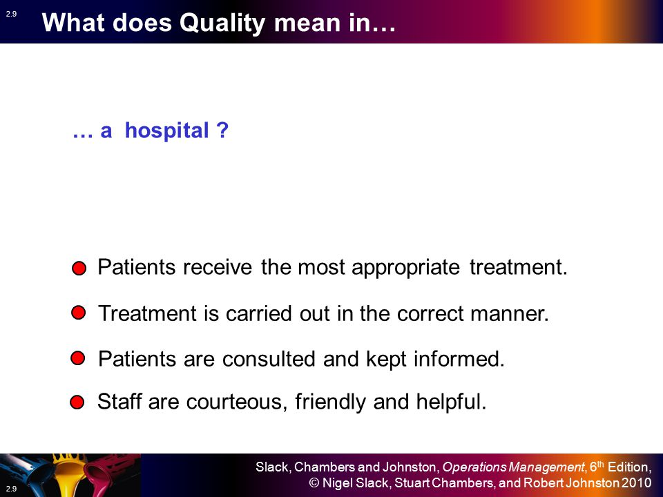 What does Quality mean in…