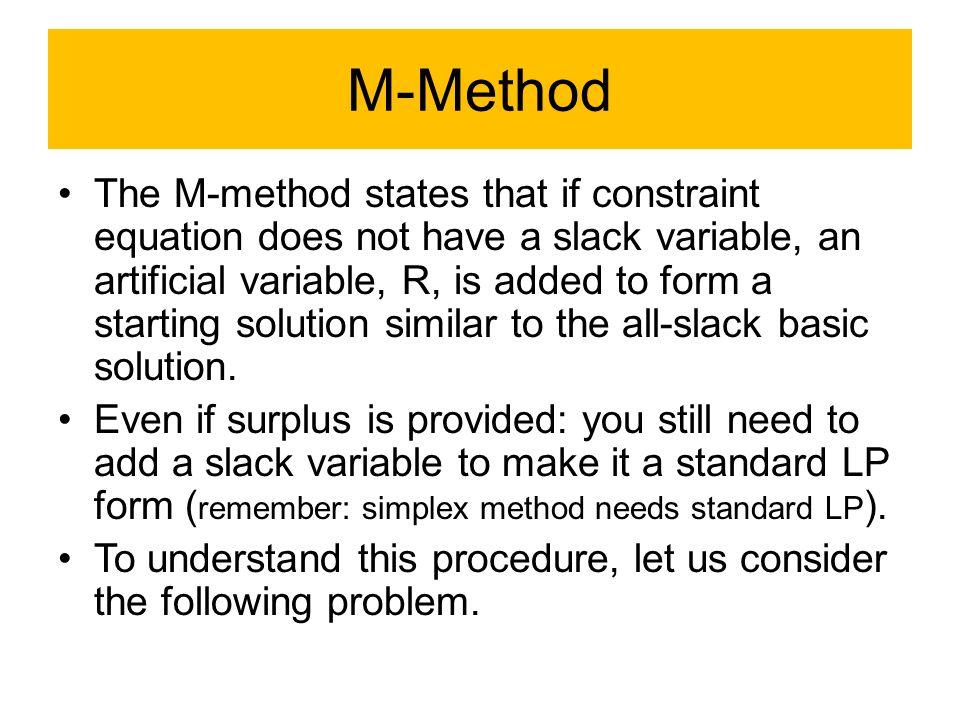 M-Method