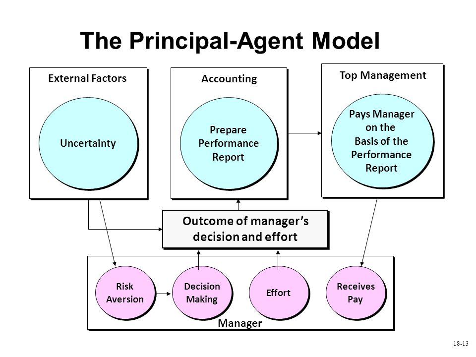 agent accounting model