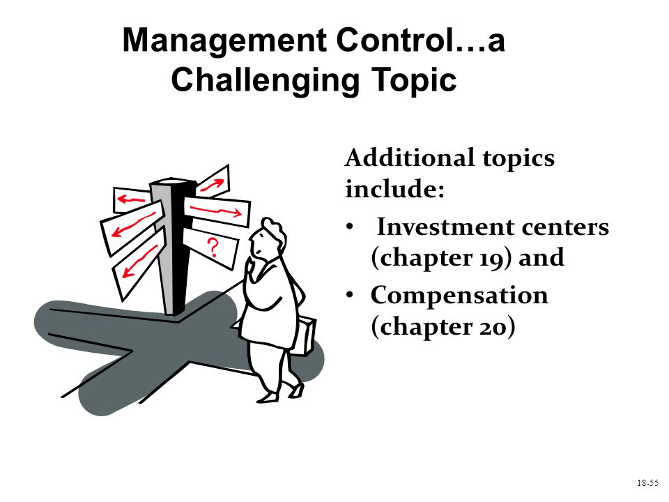 Management Control…a Challenging Topic