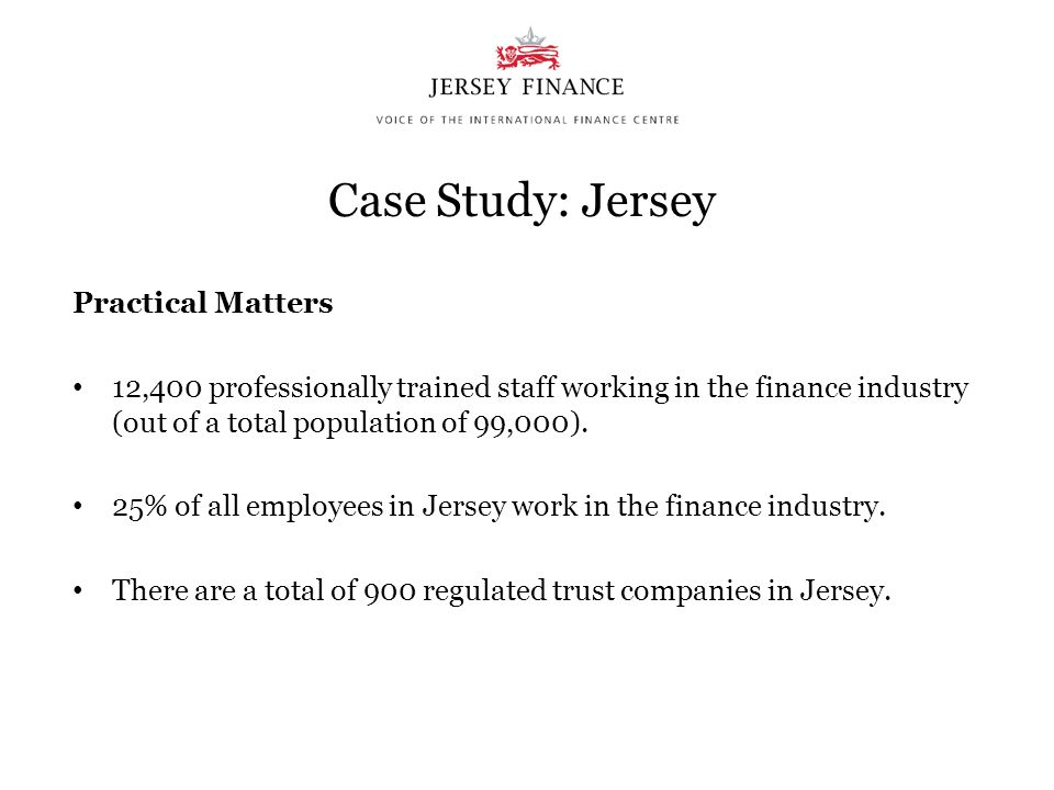 Case Study: Jersey Practical Matters