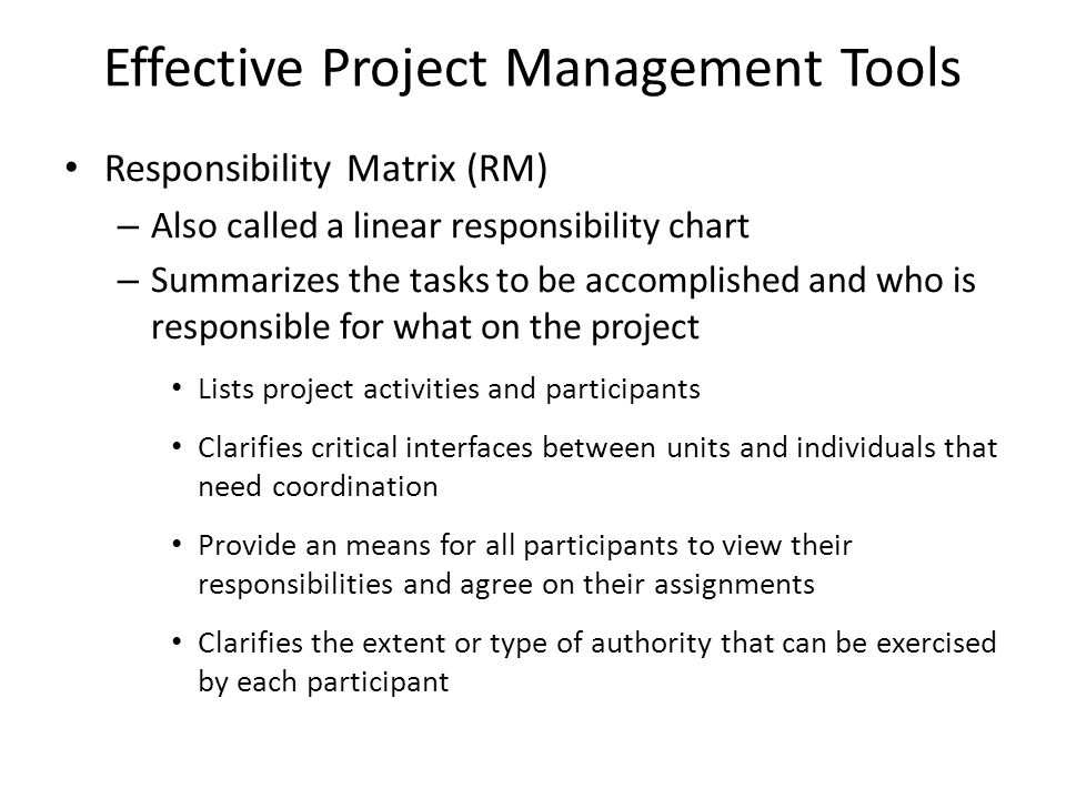 Effective Project Management Tools