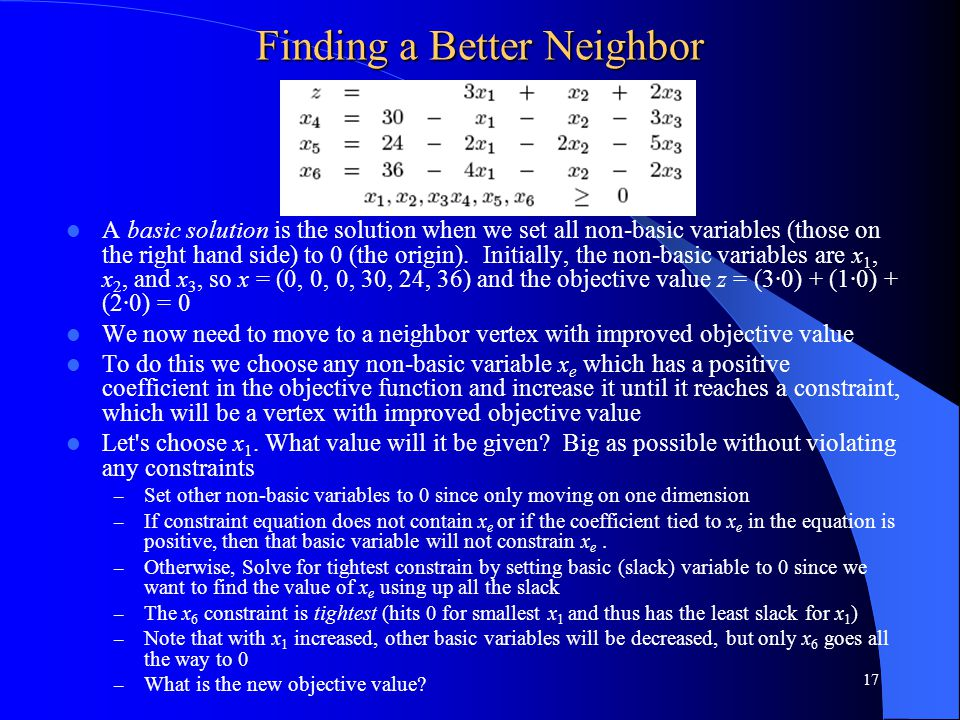 Finding a Better Neighbor