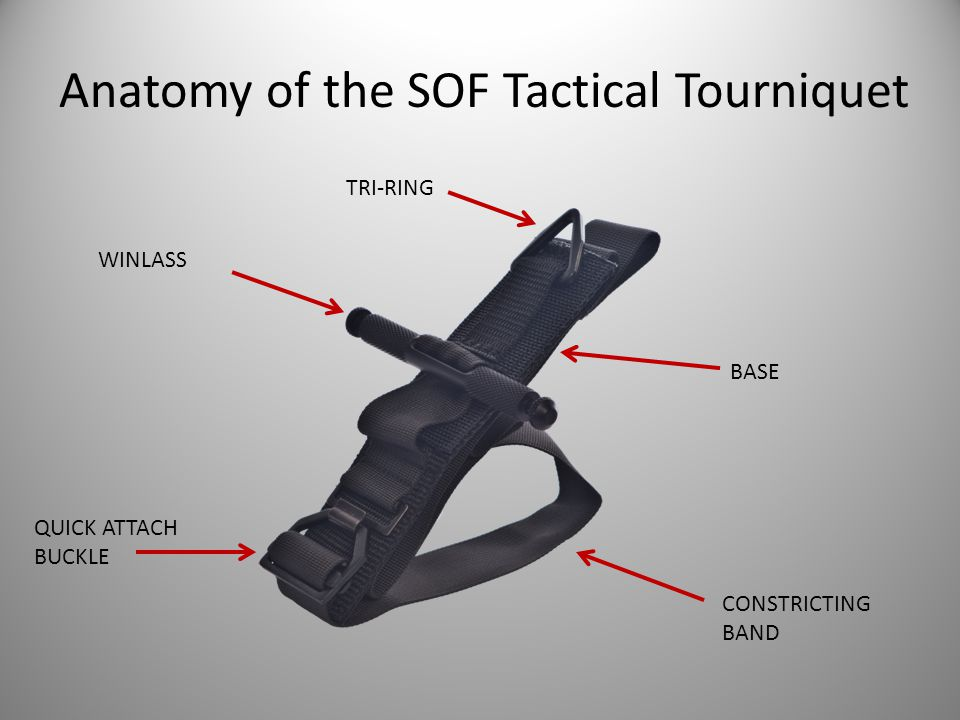 Anatomy of the SOF Tactical Tourniquet