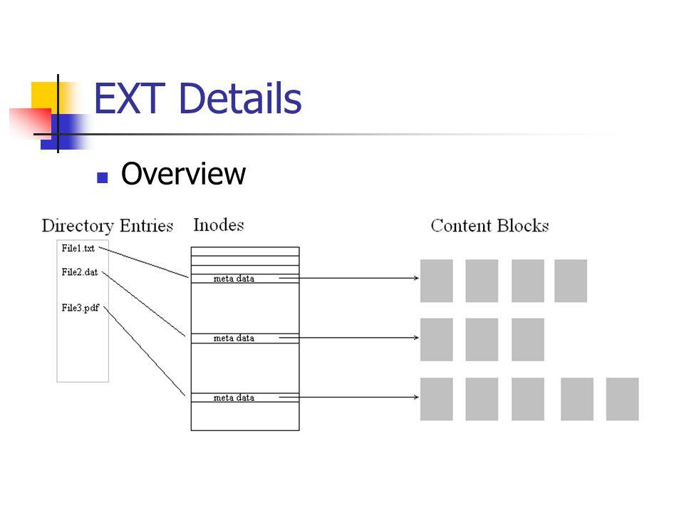 EXT Details Overview