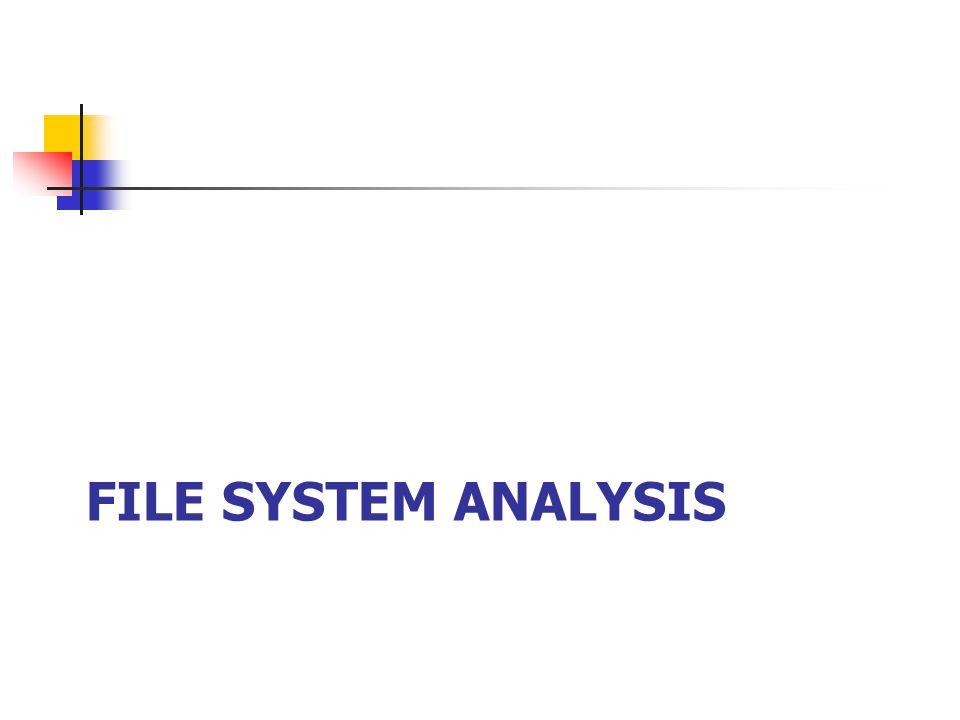 File System Analysis