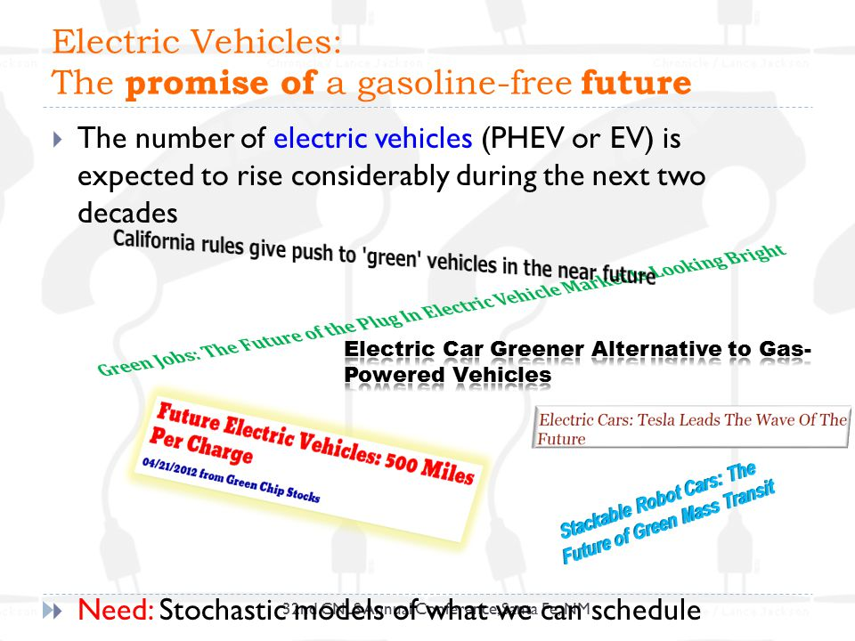 Electric Vehicles: The promise of a gasoline-free future