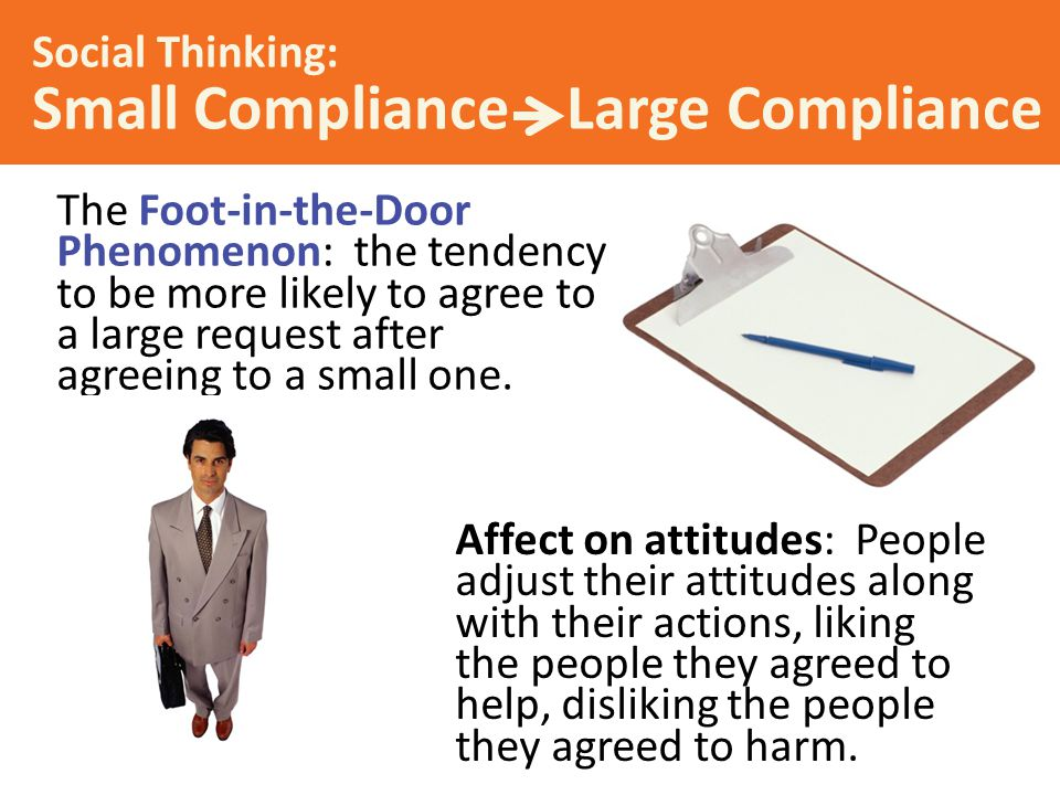 Social Thinking: Small Compliance Large Compliance