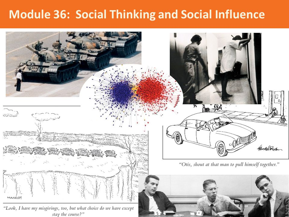 Module 36: Social Thinking and Social Influence