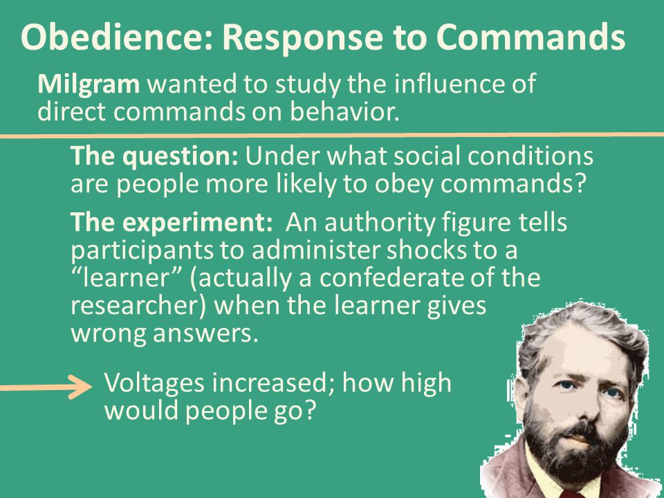 Obedience: Response to Commands