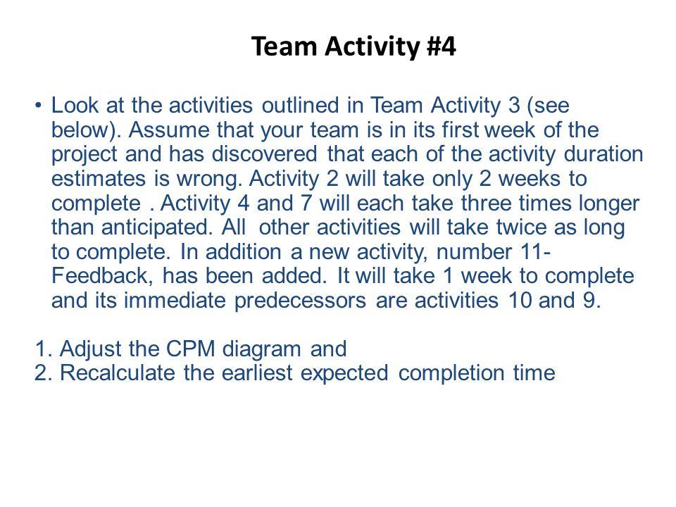 Team Activity #4