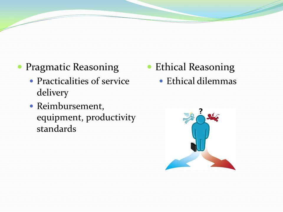 Pragmatic Reasoning Ethical Reasoning