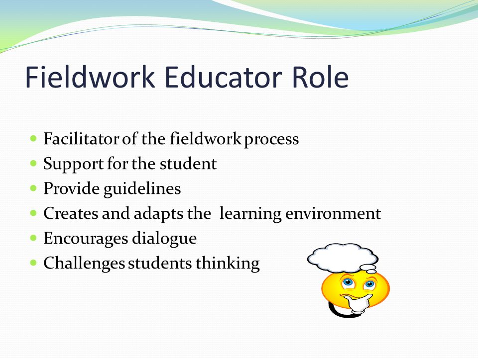 Fieldwork Educator Role