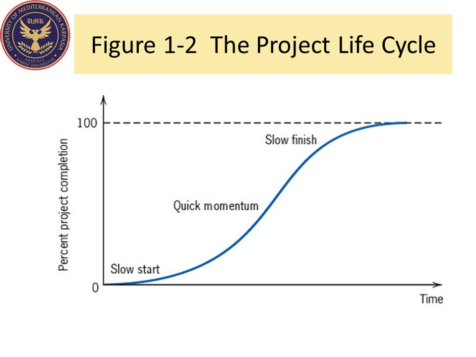 Figure 1-2 The Project Life Cycle