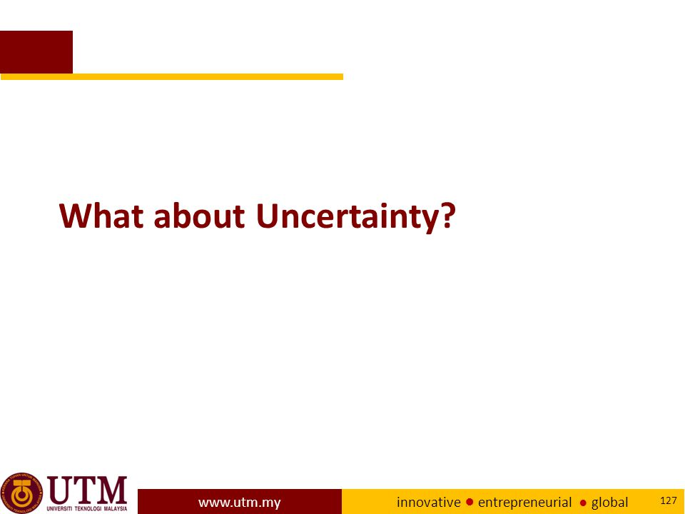 What about Uncertainty