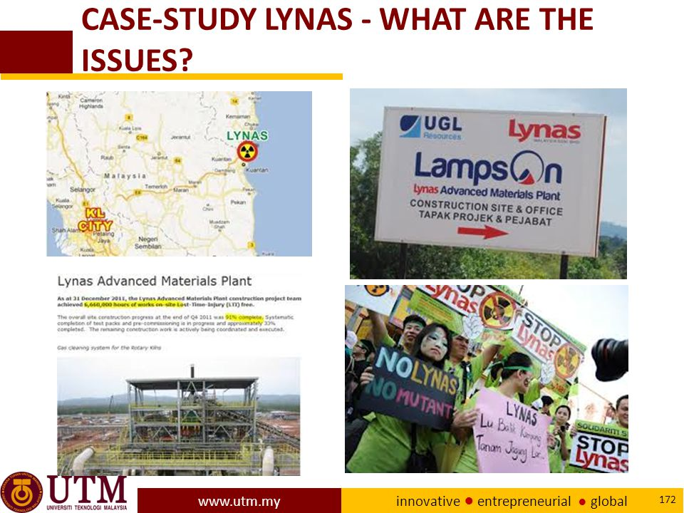 CASE-STUDY LYNAS - WHAT ARE THE ISSUES