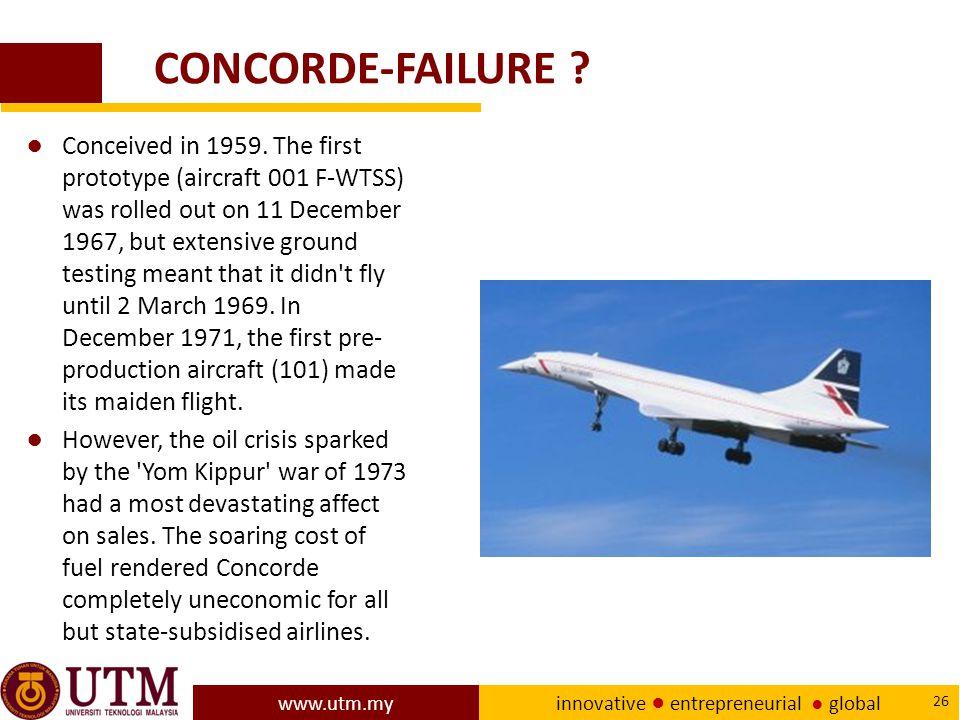 CONCORDE-FAILURE