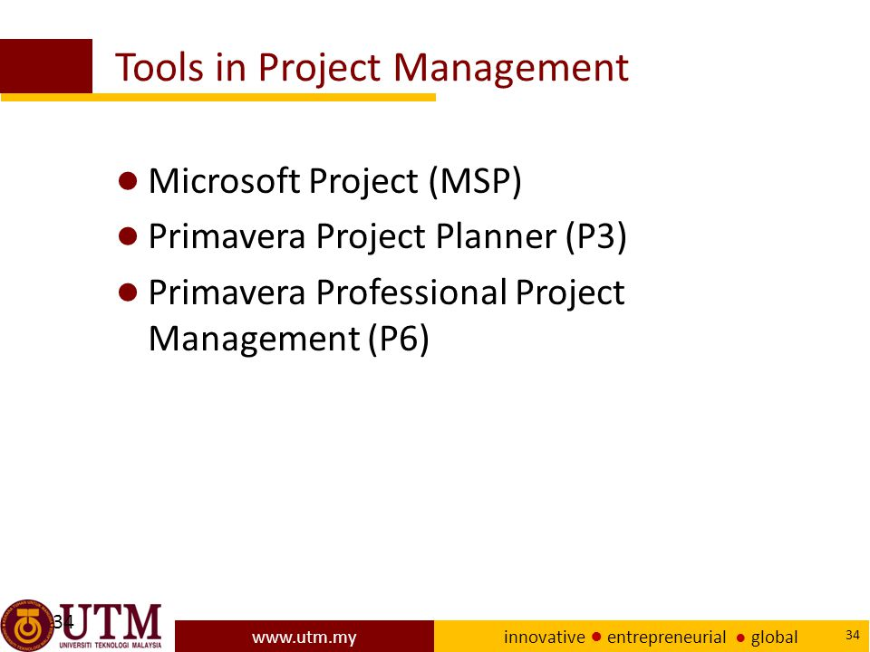 Tools in Project Management