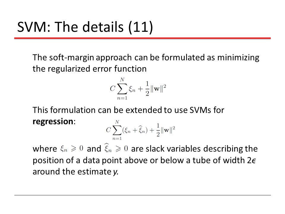 SVM: The details (11)