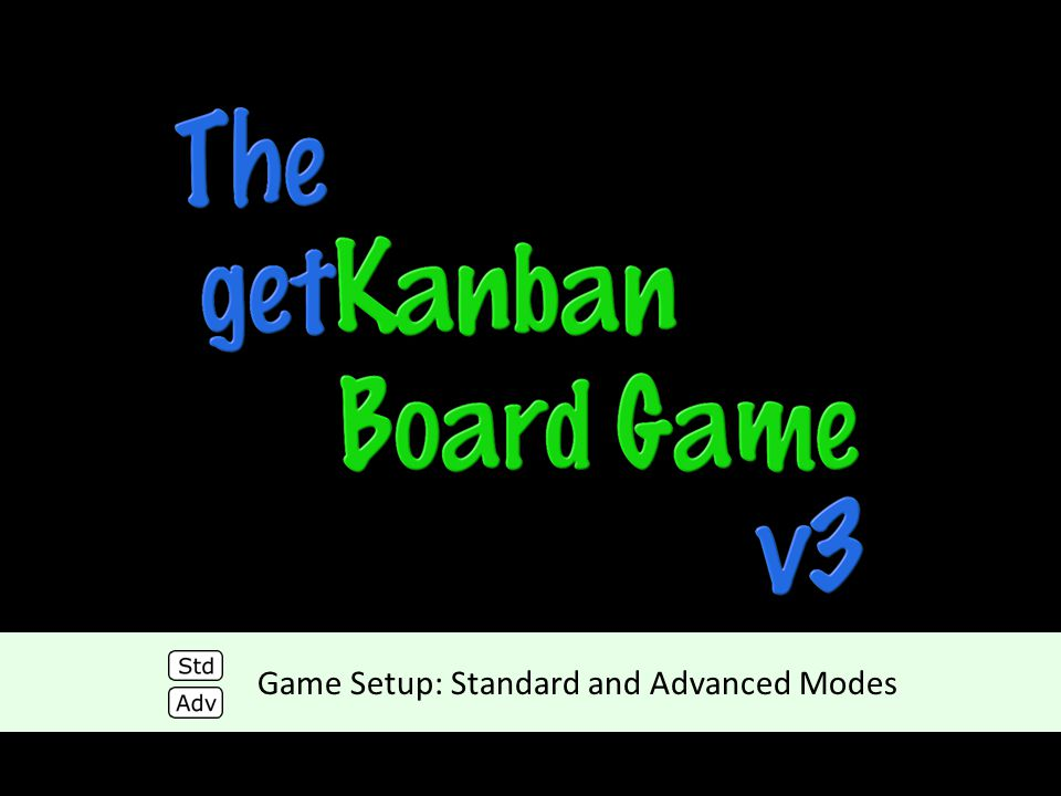 Game Setup: Standard and Advanced Modes