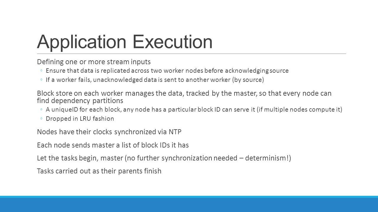 Application Execution